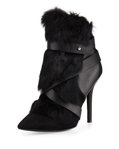 Knife Rabbit-Fur Bootie