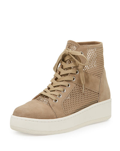 Justin Mesh High Top Sneaker