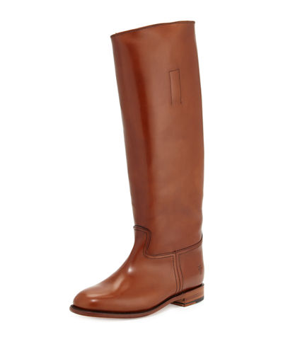 Abigail Riding Leather Boot