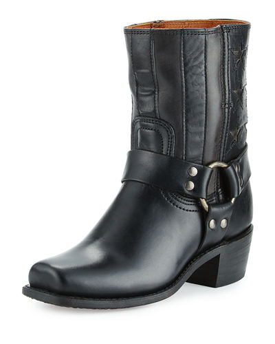 Harness Americana Star Leather Boot