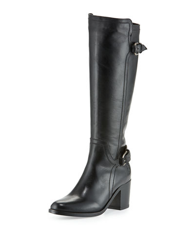 Janis Shield Tall Leather Boot