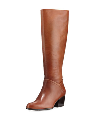 Standard Leather Riding Boot, Saddle
