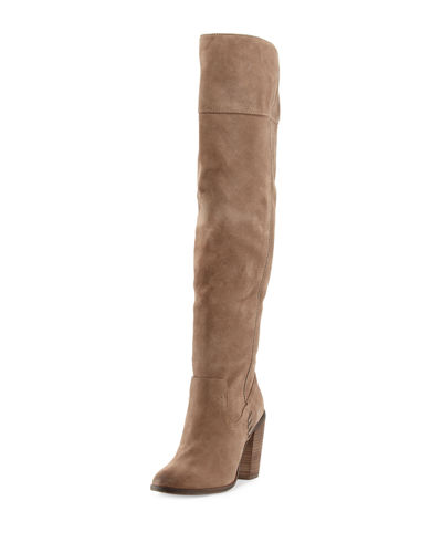 Orene Suede Over-The-Knee Boot