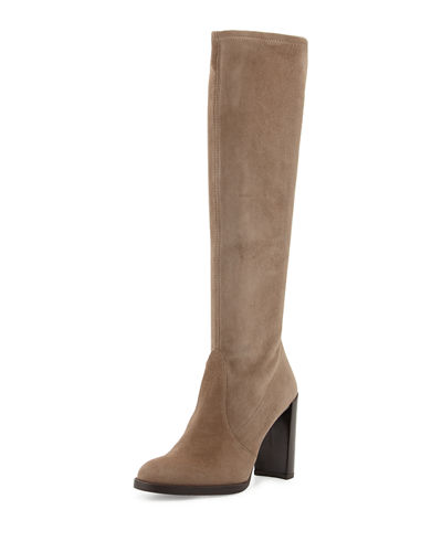 Giveitup Suede Knee Boot