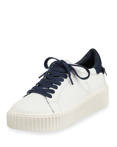Parker Leather Platform Sneaker
