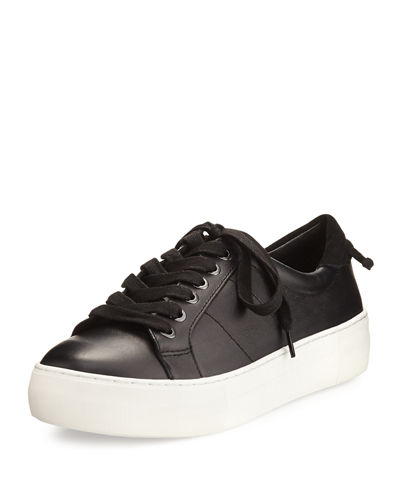 Asher Leather Lace Up Sneaker