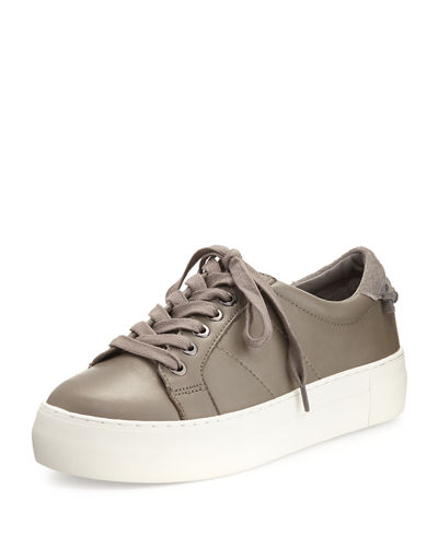Asher Leather Lace-Up Sneaker