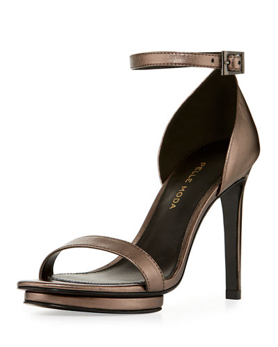 Taft Leather Platform Sandal