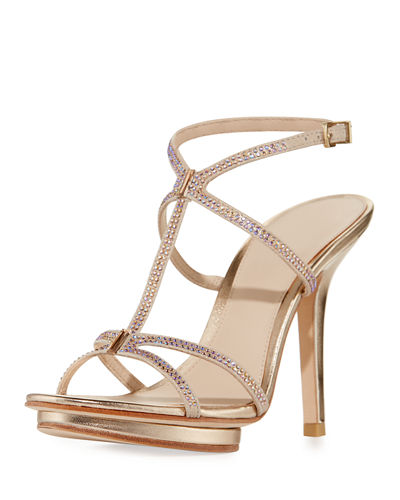 Women's Evening Shoes : Strappy & Mesh Sandals at Neiman Marcus ...