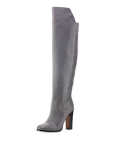 Dempsey Leather Over-the-Knee Boot