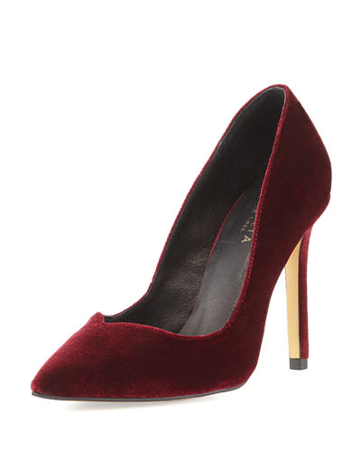 Kathryn Velvet High Pump
