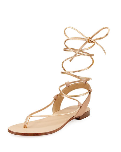 Candee Strappy Leather Sandal