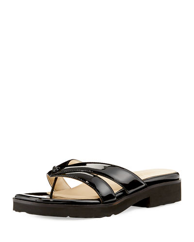 Tacy Patent Leather Sandal