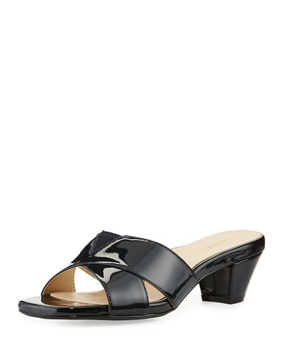 Obert Patent Leather Sandal