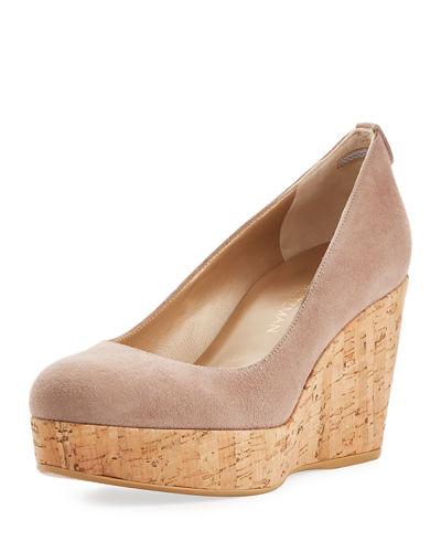 Dutchess Cork Wedge Pump