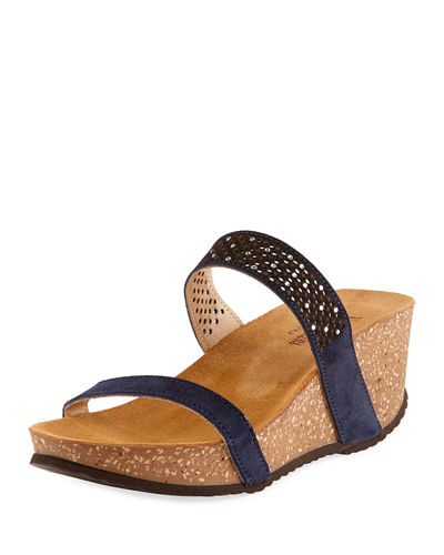 Reece Two-Band Wedge Sandal