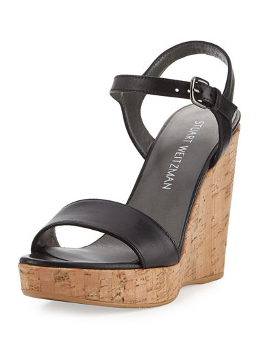Marry Me Cork Wedge Platform Sandal