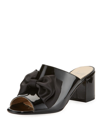 Lanzarote Patent Bow Mule