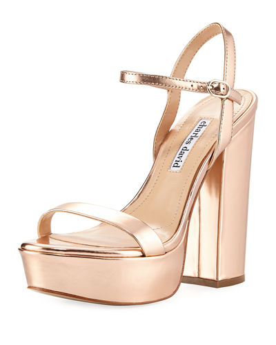 Regal Leather Platform Sandal