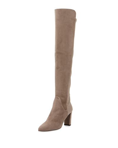 Fiftymimi Stretch Over-the-Knee Boot, Fossil