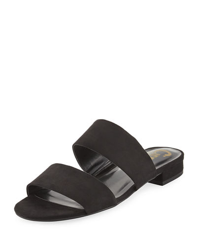 Delaney Slide Flat Sandal