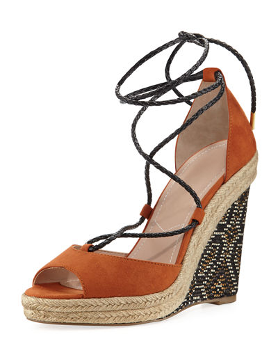 Boston Printed Wedge Sandal