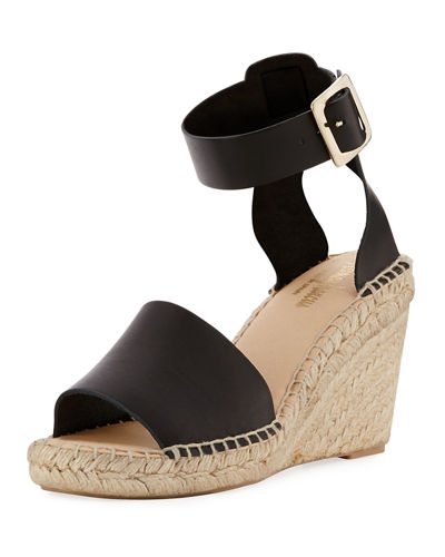 Esmie Leather Espadrille Sandal