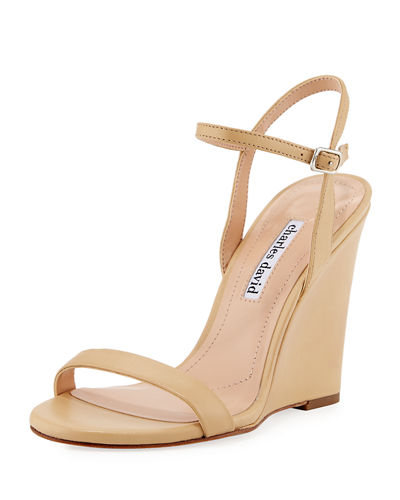 Queen Smooth Wedge Sandal