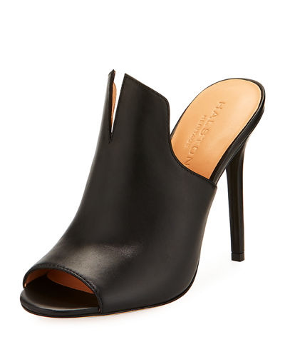 Carmen Slit Stiletto Mule