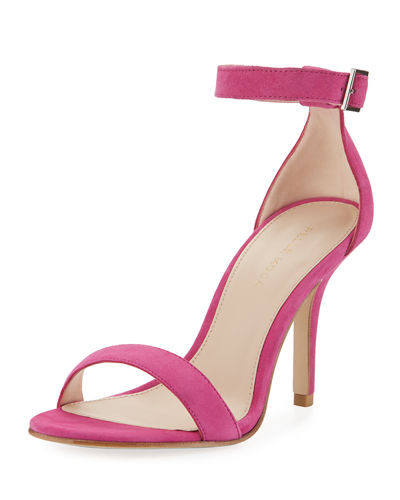 Kasey High Dressy Suede City Sandal