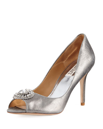 Roanna II Metallic Embellished Pump