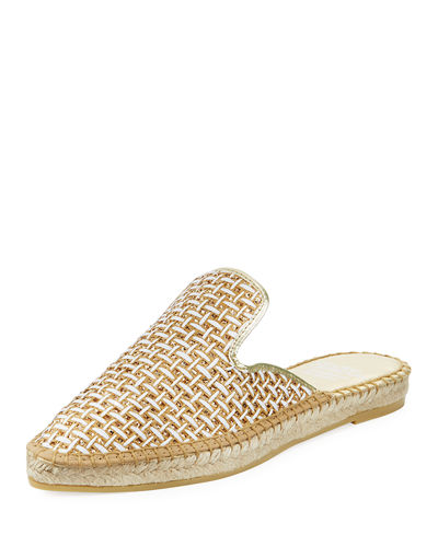 Marcia Woven Fabric Mule