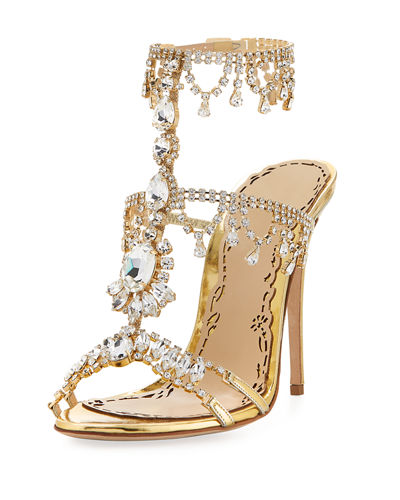 Grace Strappy Embellished Sandal