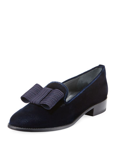 Atabow Velvet Slip-On Flat