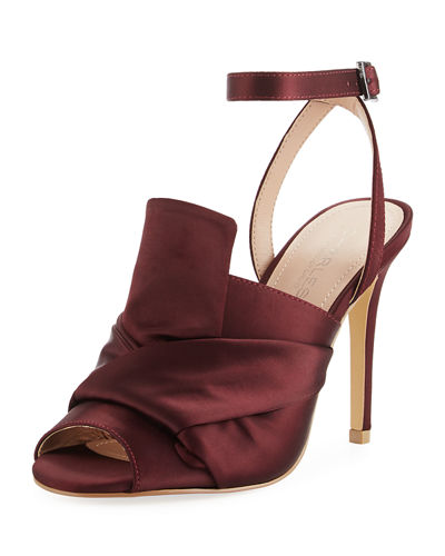 Rachel Satin Luxe High Pump