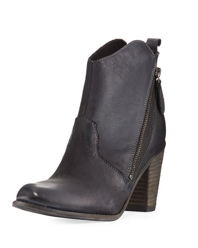 Ivi Distressed Ankle Bootie