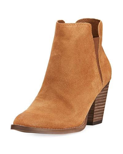 Jante Leather Ankle Bootie