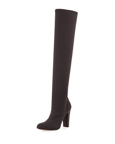 Simone High-Heel Over-The-Knee Boot