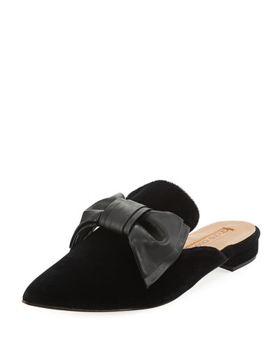 Prince Velvet Mule with Bow