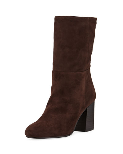 Cinch Suede Mid-Calf Boot