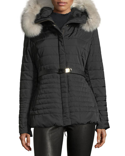 Fur-Trim Apres-Ski Jacket