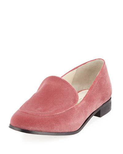 Regency Velvet Slip-On Loafer