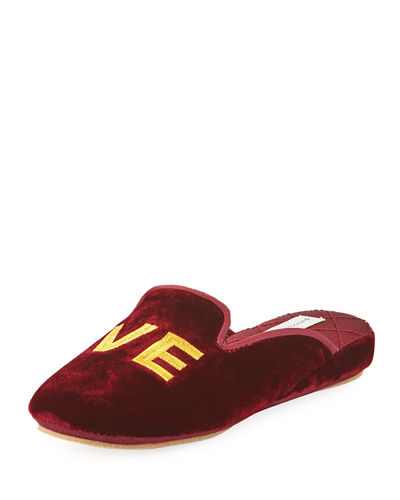 LO-VE Velvet Cushioned Slipper