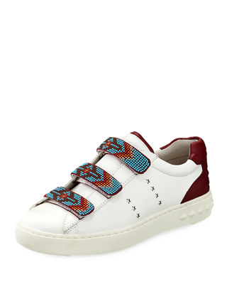 PHARREL BEADED STAR PLATFORM SNEAKERS