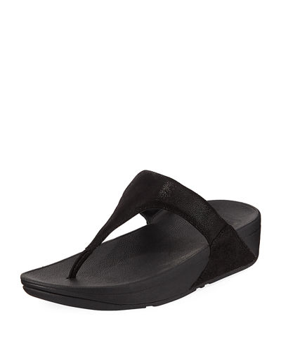 Shimmy Suede Thong Sandal