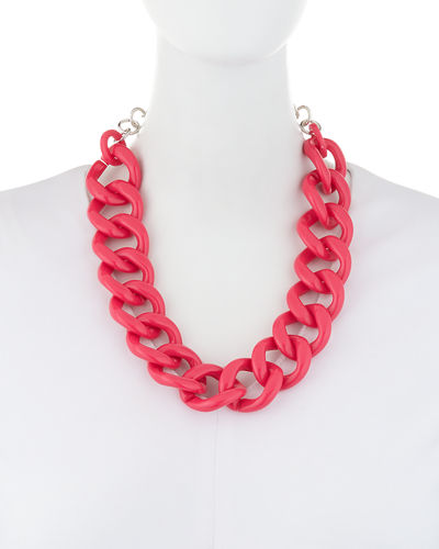 Smooth Chain Link Short Neck