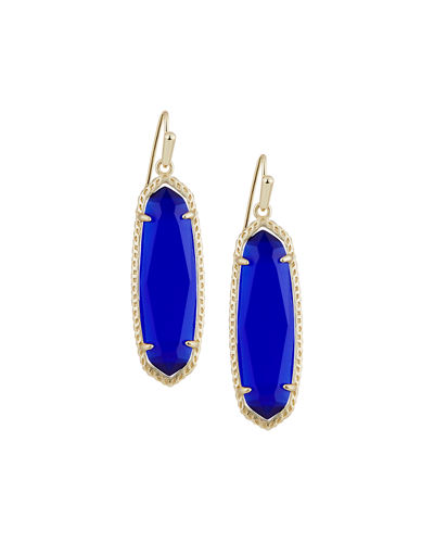Layla Oblong Drop Earrings