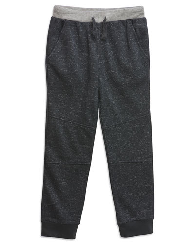 Aidan Drawstring Speckled Joggers Size 4 6X