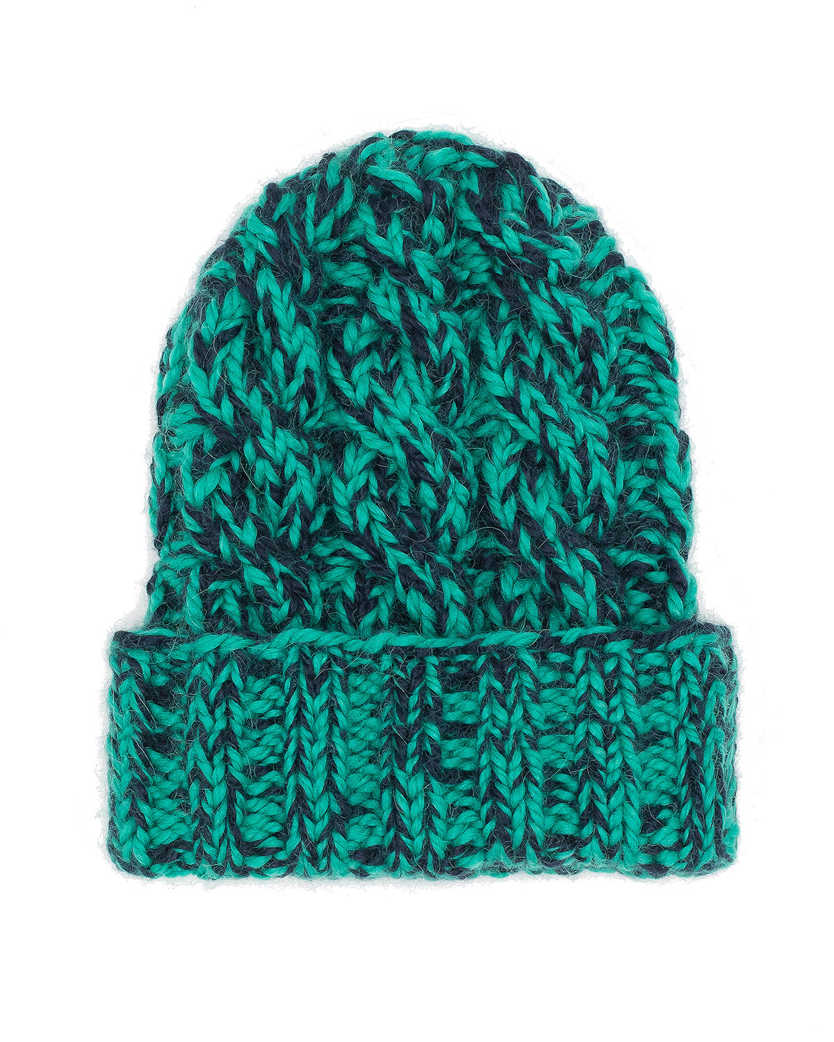 Mika Hand-Knit Cable Beanie