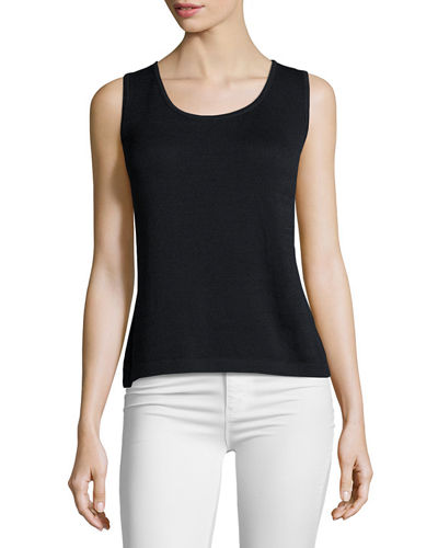 Contour Scoop-Neck Tank